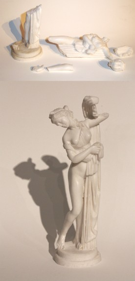 19th c. Italian marble sculpture from Greece